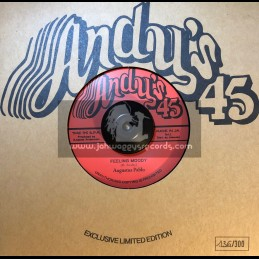 """Andy's-7""""-Feeling Moody / Augustus Pablo + Version / Andys All Stars"""