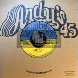 "Andy's-7""-Quiet Place / Paragons + Noisy Place / I Roy"