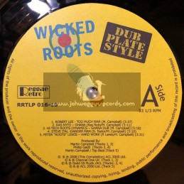 Reggae Retro-LP-Wicked Roots / Dub Plate Style