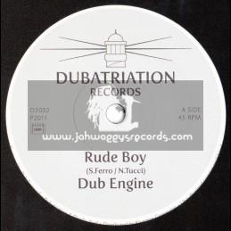 "Dubatrition Records-7""-Rude Boy / Dub Engine"