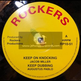 "Rockers-10""-Keep On Knocking / Jacob Miller + Book Of Life / Hugh Mundell"