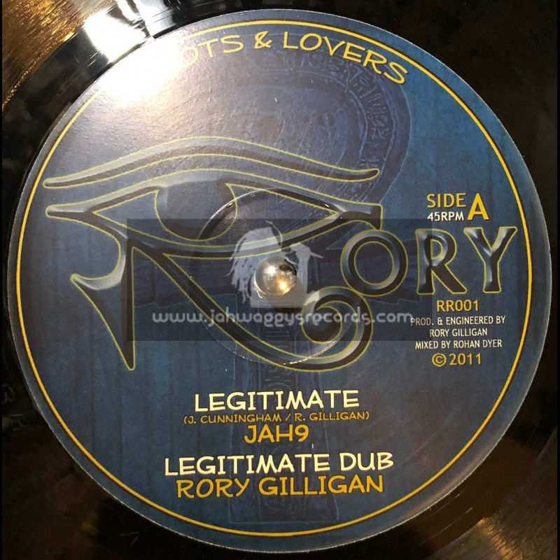 """Rory (Roots & Lovers)-10""""-Legitimate / Jah 9"""