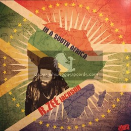 "Jamwax-12""-In A South Africa / R. Zee Jackson + At The Reggae Party / R. Zee Jackson"