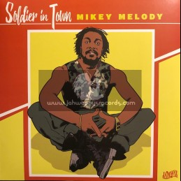 """Dennis Star-Jamwax-12""""-Soldier In Town / Mikey Melody"""