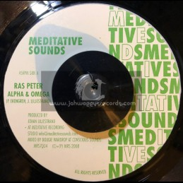 "Meditative Sounds-7""-Alpha & Omega / Ras Peter"