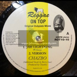 "Reggae On Top-10""-Jah Lightning + Four Noble Truths / Chazbo"