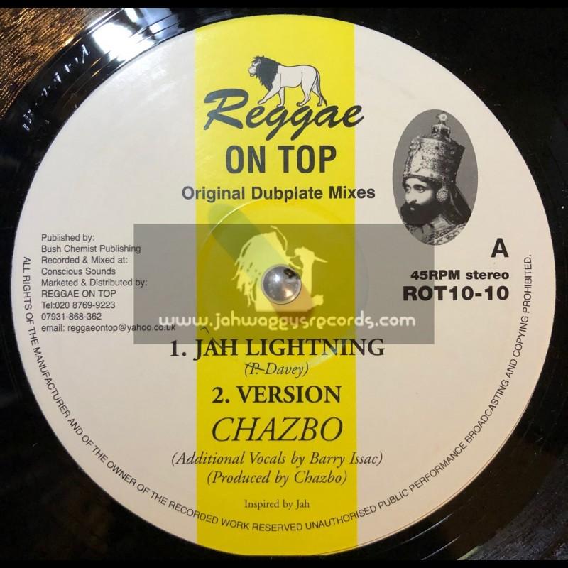 "Reggae On Top-10""-Jah Lightning + Four Noble Truths / Chazbo"