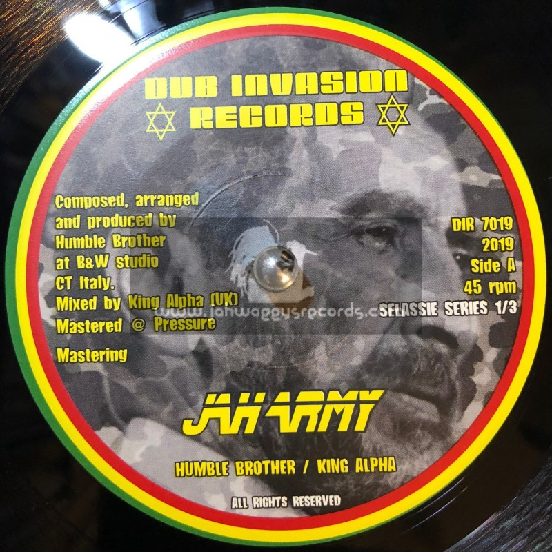 """Dub Invasion Records-7""""-Jah Army / Humble Brother Meets King Alpha"""