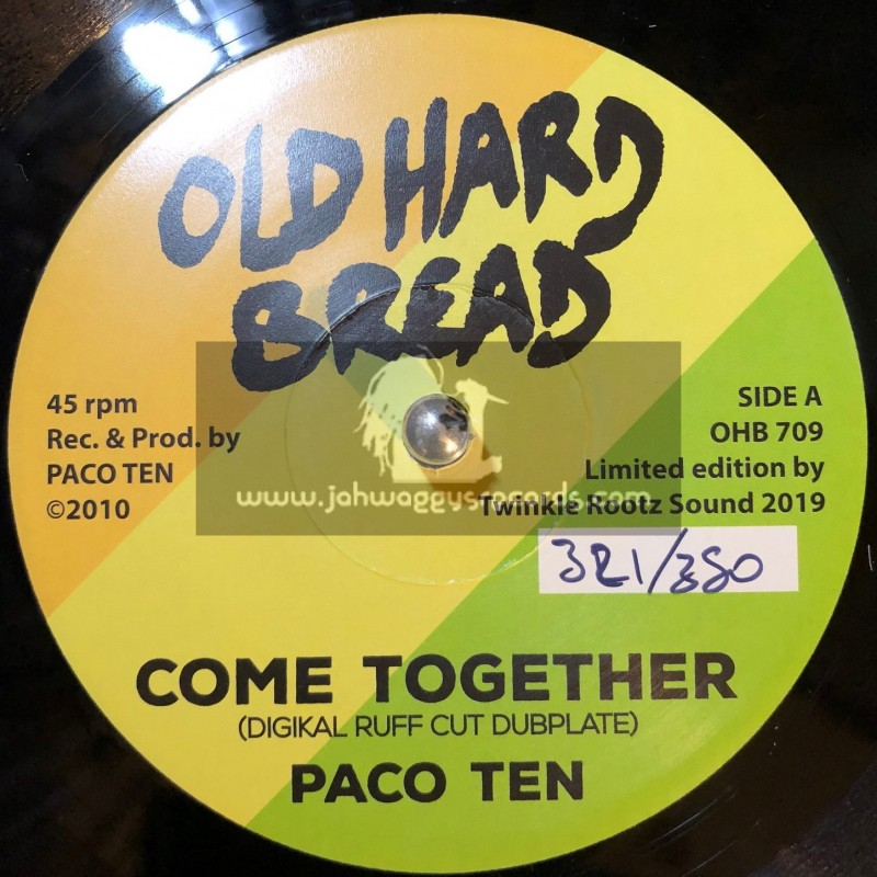 """Old Hard Bread-7""""-Come Together / Paco Ten - Digikal Ruff Cut Dubplate"""