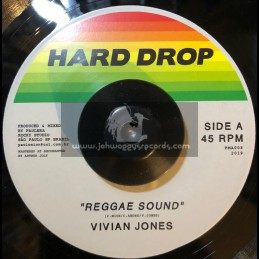 "Hard Drop-7""-Reggae Sound / Vivian Jones"