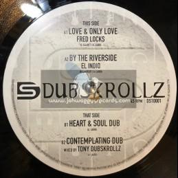 "Dub Skrollz-10""-Love & Only Love / Fred Locks + By The Riverside / El Indio"