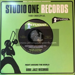 "Studio One Records-7""-Independent Anniversary Ska + King Solomon / Roland Alphonso & The Skatalites"
