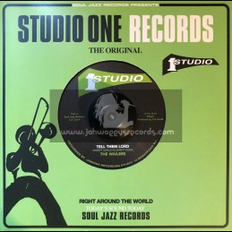 """Studio One Records-7""""-Tell Them Lord / The Wailers + Further East / Don Drummond & The Skatalites"""