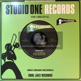 "Studio One Records-7""-Coolie Boy / Don Drummond & The Skatalites + Surplus / Don Drummond & The Skatalites"
