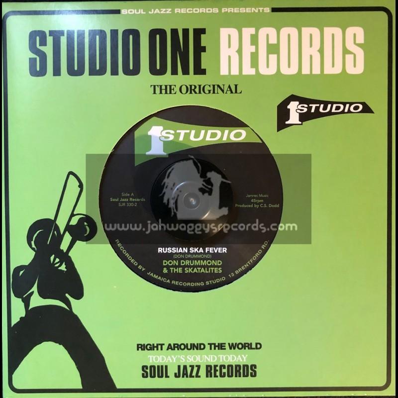 "Studio One Records-7""-Russian Ska Fever / Don Drummond & The Skatalites + El Pussycat / Roland Alphonso & The Skatalites"