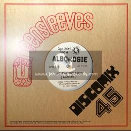 "Greensleeves Records-10""-Who Run The Dance / Alborosie + Positiveness / Alborosie"