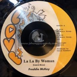 """Love-7""""-La La By Woman / Freddie McKay"""