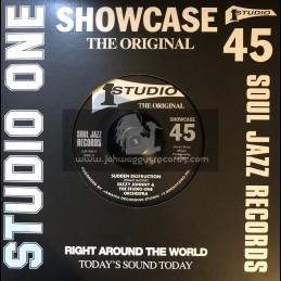 "Soul Jazz Records-7""-Sudden Destruction / The Skatalites + Opportunity / The Soulettes"