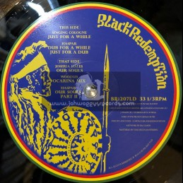 "Black Redemption Records-12""-Just For A While / Haspar Feat. Singing Cologne + Our Souls / Haspar Feat. Joshua Hales"