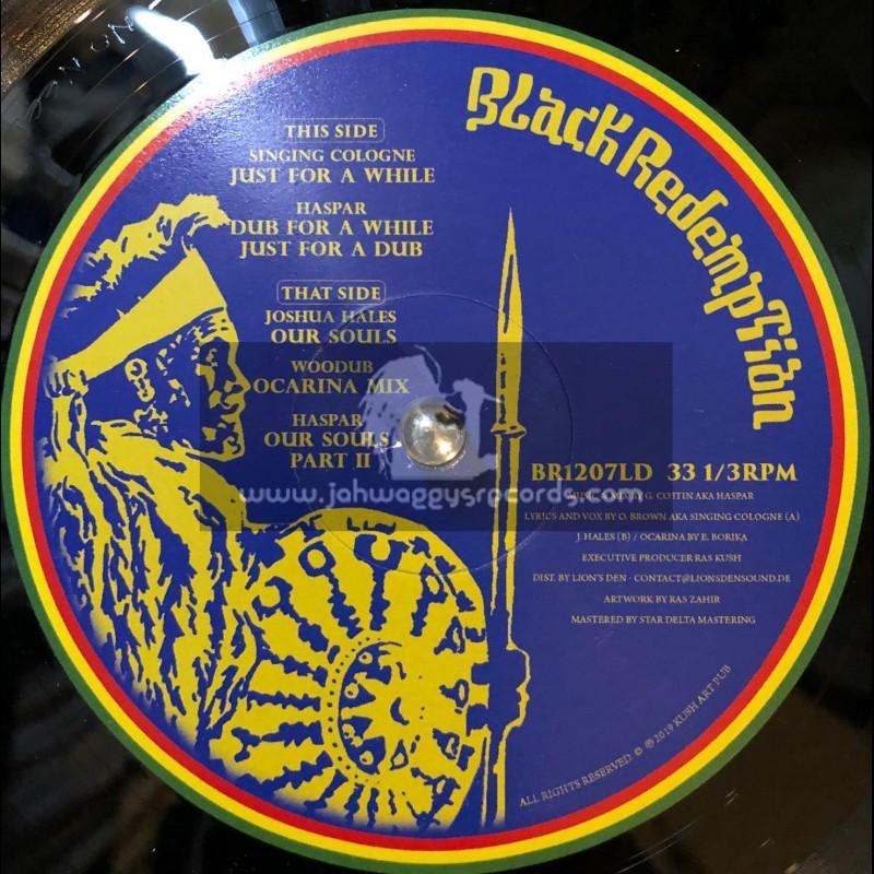 "Black Redemption Records-12""-Just For A While / Haspar Feat. Singing Cologne + Our Souls / Haspar Feat. Joshua Hales"
