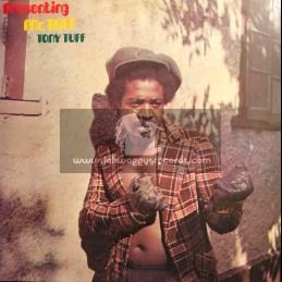 Black Roots-Lp-Presenting Mr.Tuff / Tony Tuff