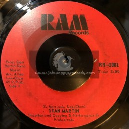 "Ram Records-7""-Rasta Reminiscence / Stan Martin"