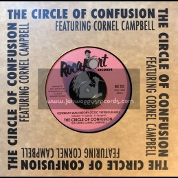 "Rocafort Records-7""-Yesterday Was History / The Circle Of Confusion Feat. Cornel Campbell"