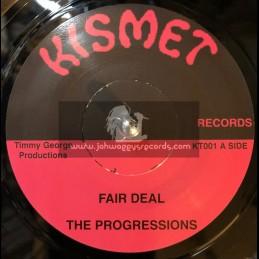 """Kemist-7""""-Fair Deal/The Progressions+Drugs Man / Hux Brown"""