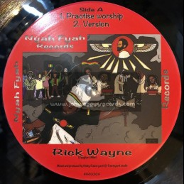 "Nyah Fyah Records-10""-Practice Worship / Rick Wayne + Faith In Jah / Isiah Mentor"