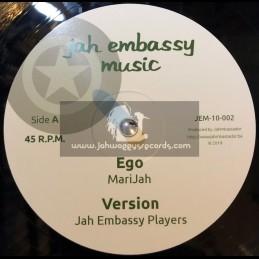 "Jah Embassy Music-10""-Ego / MariJah + Humble Rock / Irie Ilodica "