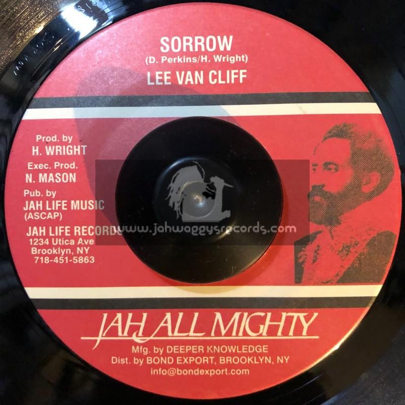 """Jah All Mighty-7""""-Sorrow / Lee Van Cliff"""