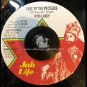 """Jah Life-7""""-Ease Up The Pressure / Icho Candy"""