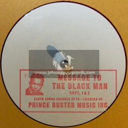 """Earth Sound Records-10""""-Ep 10-Message To The Black Man"""