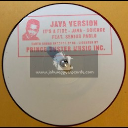 """Earth Sound Records-10""""-Its A Fire - Java - Science / Prince Buster"""