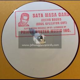 "Earth Sound Records-10""-Sata Masa Gana / Prince Buster All Stars + Drums Drums / Prince Buster All Stars"