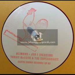 "Earth Sound-10""-Alimawi-Jah I / Tommy McCook - Treasure Isle Rec Sudio"