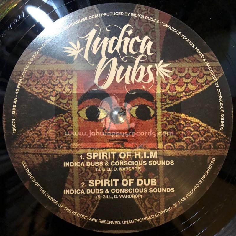 "Indica Dubs-10""-Jah Love Is True / Danman + Spirit Of H.I.M / Indica Dubs Meets Conscious Sounds"