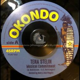 "Okondo-7""-Musical Commitment / Tena Stelin"