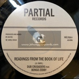 "Partial Records-7""-Readings From The Book Of Life / Dub Crusaders Feat. Bongo Zebby"