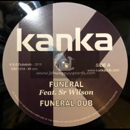 "Kanka-12""-Funeral / Sr Wilson + Purple Dub / Kanka"