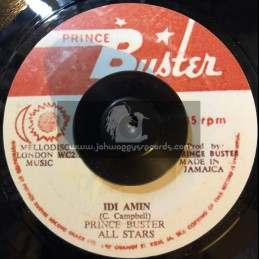 "Prince Buster-7""-Idi Amin / Prince Buster All Stars"