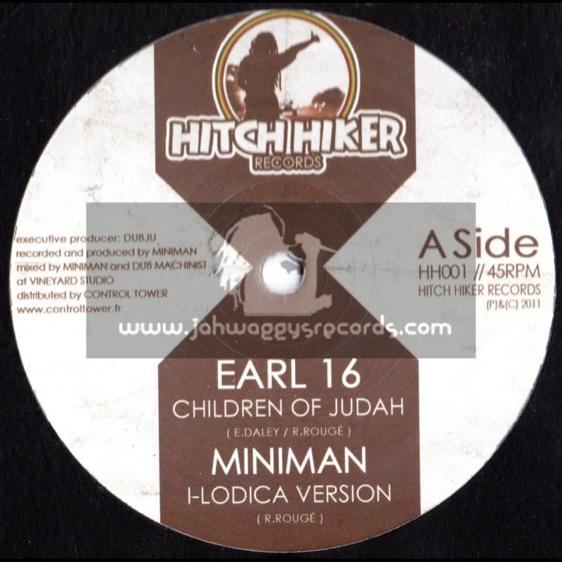 """Hitchiker Records-12""""-Children of Judah / Miniman feat Earl 16"""