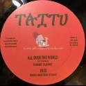 """TAITU RECORDS-10""""-ALL OVER THE WORLD / JOHNNY CLARKE + HELP JAH JAH COME / LINVAL THOMPSON(ROOTS INJECTION)"""