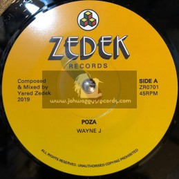 "Zedeck Records-7""-Poza / Wayne J + Compoza / Yared Zedek"