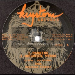 "Keystone Records-12""-Warning / daba & The Keystone Players"