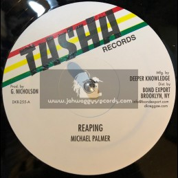 "Tasha Records-12""-Reaping / Michael Palmer + Acting So Strange / Frankie Jones"