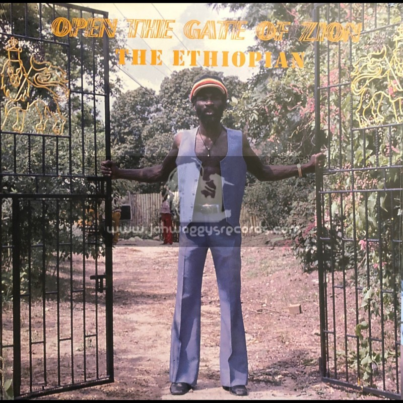 Jamaican Art Records-LP-Open The Gate Of Zion / The Ethiopian 