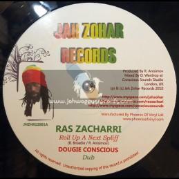 "Jah Zohar Records-12""-Roll Up A Next Spliff / Ras Zacharri + Marching Home / Jah Zohar"