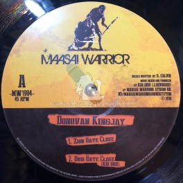 "Maasai Warrior-10""-Zion Gate Close / Donoavan Kingjay + Repatriation / Donovan Kingjay"