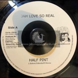 "Ras Heart-7""-Heavy Load / Mike Brooks + Jah Love So Real / Half Pint"